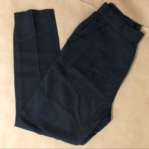 3.1 Phillip Lim | High Rise Silk Tapered Pants
